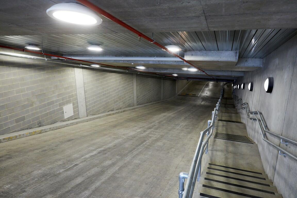 Interior car park - Camberwell Grammar