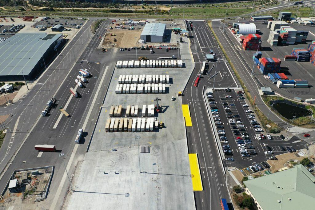 Toll Terminal Webb Dock