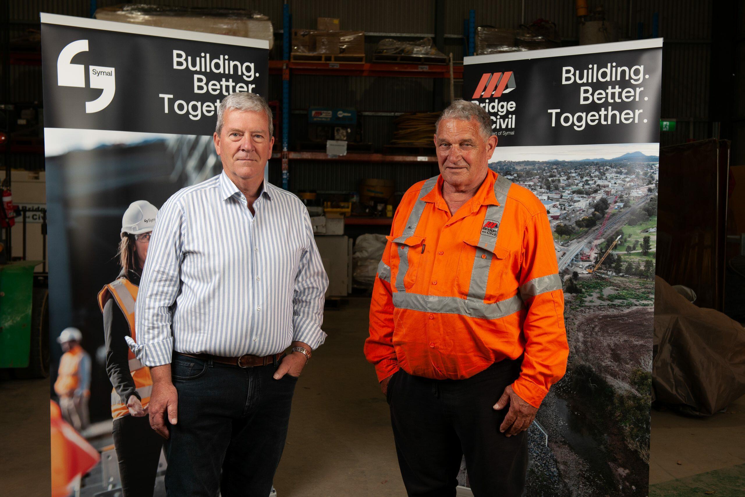 Bridge and Civil directors, Bob Simpkins and Allan Goldman